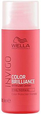 Schützendes Shampoo für feines bis normales, coloriertes Haar - Wella Professionals Invigo Color Brilliance Color Protection Shampoo — Bild N1