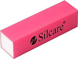 Düfte, Parfümerie und Kosmetik 4-seitiger Polierblock rosa - Silcare