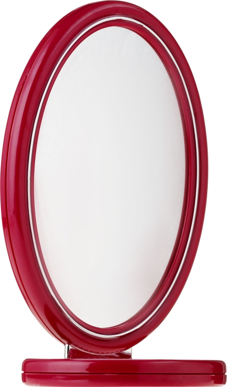Doppelseitiger Kosmetikspiegel 9503 rot - Donegal Mirror — Bild N1