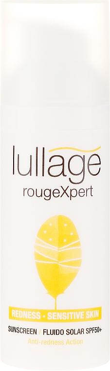 Sonnenschutzfluid für das Gesicht gegen Rötungen SPF 50+ - Lullage RougeXpert Rojeces-Piel Sensible Fluido Solar SPF50+ — Bild N2
