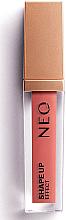 Düfte, Parfümerie und Kosmetik Matter flüssiger Lippenstift für aufgepolsterte Lippen - NEO Make up Shape Up Effect Lipstick