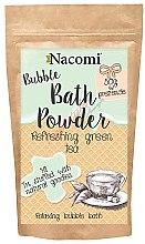 Düfte, Parfümerie und Kosmetik Erfrischendes Badepulver mit grünem Tee - Nacomi Refreshing Green Tea Bath Powder