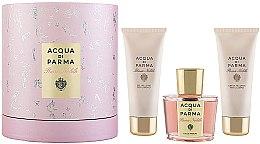Düfte, Parfümerie und Kosmetik Acqua di Parma Rosa Nobile - Duftset (Eau de Parfum 100ml + Duschgel 75ml + Körpercreme 75ml)