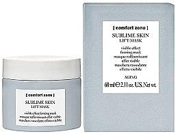 Düfte, Parfümerie und Kosmetik Straffende Liftingmaske für das Gesicht - Comfort Zone Sublime Skin Lift Mask