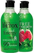 Düfte, Parfümerie und Kosmetik Energetisierendes Duschgel mit Wassermelone und Minze - Body Boom Fresh Energy