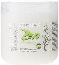 Düfte, Parfümerie und Kosmetik Glättendes Körperpeeling - Sezmar Collection Professional Zen Aromatherapy Body Scrub