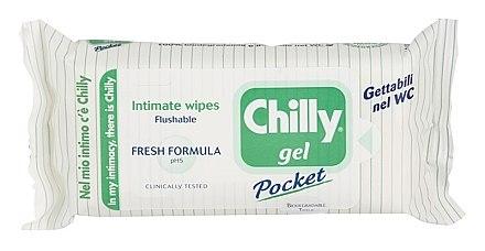 Erfrischende Feuchttücher für die Intimhygiene - Chilly Gel Fresh Intimate Wipes — Bild N1