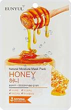 Düfte, Parfümerie und Kosmetik Feuchtigkeitsspendende Tuchmaske für das Gesicht mit Honigextrakt - Eunyul Natural Moisture Mask Pack Honey