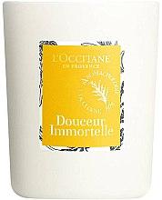 Duftkerze im Glas Douceur Immortelle - L'Occitane Revitalizing Candle — Bild N2