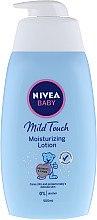 Düfte, Parfümerie und Kosmetik Streichelzarte Körperlotion - Nivea Baby Mild Touch Moisturizing Lotion