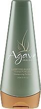 Düfte, Parfümerie und Kosmetik Glättendes Shampoo mit Heilöl - Agave Clarifying Shampoo