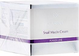 Düfte, Parfümerie und Kosmetik Regenerierende Gesichtscreme mit Schneckenschleim - Clarena Poison Line Snail Mucin Cream
