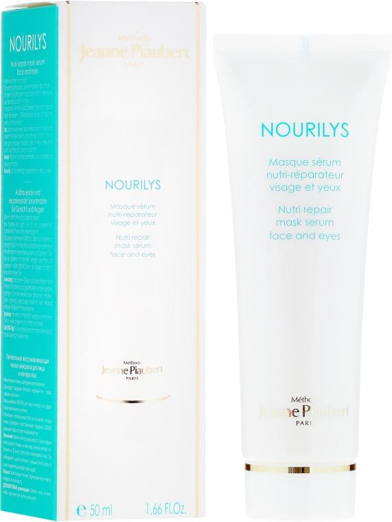 2in1Pflegemaske-Serum für Gesicht und die empfindliche Augenpartie - Methode Jeanne Piaubert Nourilys Nutri Repair Mask Serum Face & Eyes — Bild N1