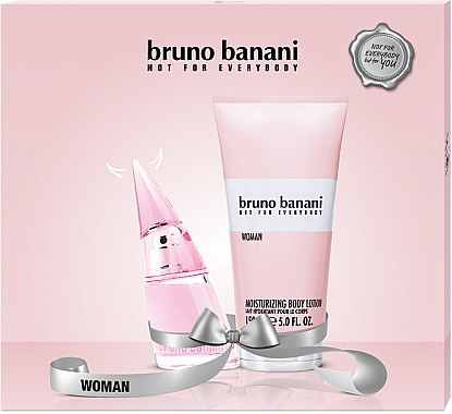 Bruno Banani Woman - Duftset (Eau de Toilette 20ml+Körperlotion 150ml) — Bild N1