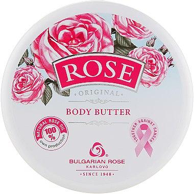 Körperbutter mit Rosenöl - Bulgarian Rose Rose Body Butter — Bild N1