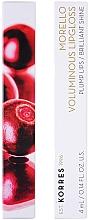 Lipgloss für mehr Volumen - Korres Morello Voluminous Lip Gloss — Bild N2