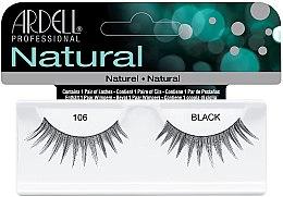 Düfte, Parfümerie und Kosmetik Künstliche Wimpern - Ardell Natural Lashes Black 106