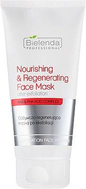 Pflegende und regenerierende Maske nach dem Peeling - Bielenda Professional Exfoliation Face Program Nourishing And Regenerating Face Mask — Bild N1