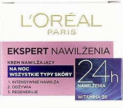 Düfte, Parfümerie und Kosmetik Feuchtigkeitsspendende Nachtcreme - L'Oreal Paris Face Cream