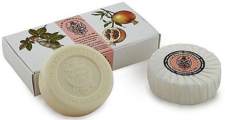 "Seifen-Set ""Granatapfel und Kraftwurz"" - La Florentina Bath Soap — Bild N1"