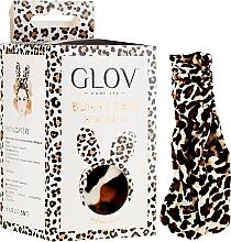 Düfte, Parfümerie und Kosmetik Haarband mit Ohren Leopardenmuster - Glov Spa Bunny Ears Headband Safari Edition