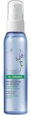 Volumen-Spray für feines Haar mit Leinfasern - Klorane Leave-In Spray with Flax Fiber — Bild N1