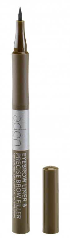 Augenbrauenmarker - Aden Cosmetics Eyebrow Liner & Precise Brow Filler — Bild N1