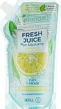 Düfte, Parfümerie und Kosmetik Mizellen-Reinigungswasser Yuzu - Bielenda Fresh Juice Detoxifying Face Micellar Water Yuzu (Refill)