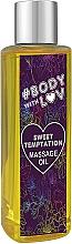 Düfte, Parfümerie und Kosmetik Massageöl Sweet Temptation - New Anna Cosmetics Body With Luv Massage Oil Sweet Temptation