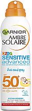 Düfte, Parfümerie und Kosmetik Anti-Sand Sonnenschutz-Trockenspray für Kinder SPF 50+ - Garnier Ambre Solaire Kids Sensitive Anti-Sand Sun Cream Spray SPF50+