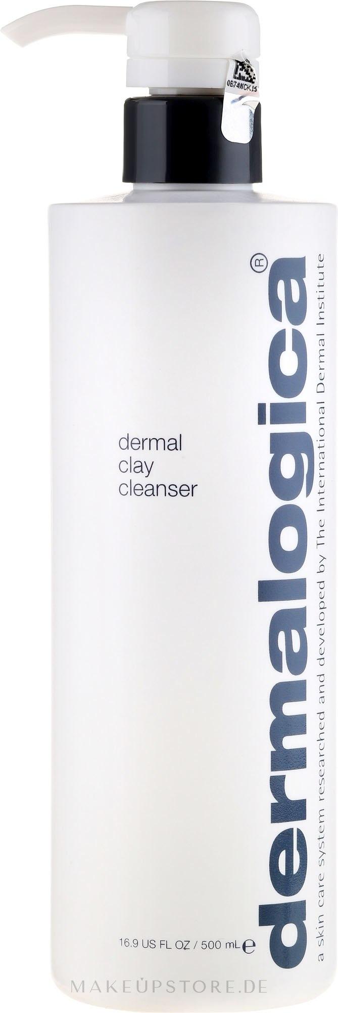 Erfrischendes und tiefenreinigendes Gesichtsgel - Dermalogica Dermal Clay Cleanser (mit Spender) — Bild 500 ml