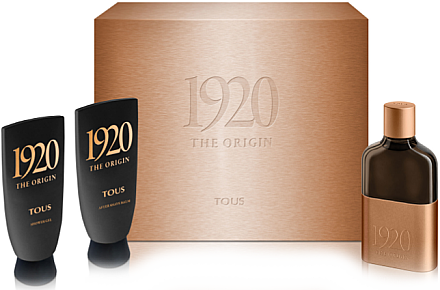 Tous 1920 The Origin - Duftset (Eau de Toilette 100ml + Duschgel 100ml + After Shave Balsam 100ml) — Bild N1