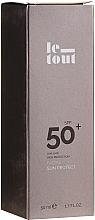 Düfte, Parfümerie und Kosmetik Sonnenschutzcreme für Gesicht LSF 50 - Le Tout Facial Sun Protect