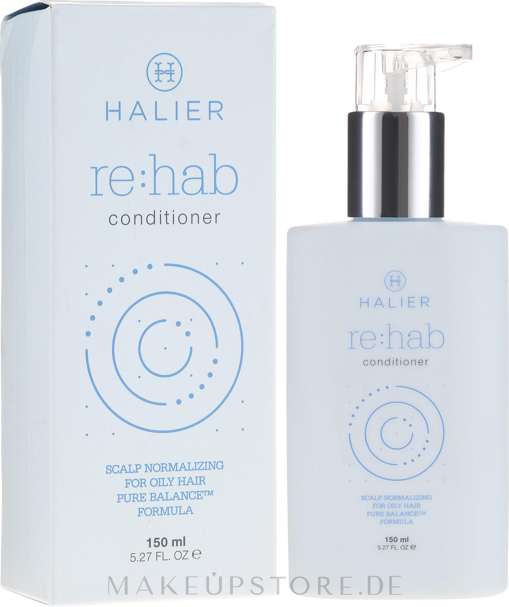 Normalisierender Conditioner für fettiges Haar - Halier Re:hab Conditioner — Bild 150 ml