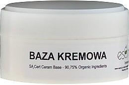 Düfte, Parfümerie und Kosmetik Pflegende Gesichtscreme mit 90,75% organischen Inhaltsstoffen - Esent