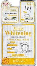 Düfte, Parfümerie und Kosmetik Aufhellende 3-Schritt-Gesichtsmaske - Bergamo 3-Step Whitening Mask Pack