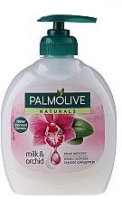 """Düfte, Parfümerie und Kosmetik Flüssigseife """"Milch und Orchidee"""" - Palmolive Naturel"""