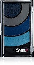 Düfte, Parfümerie und Kosmetik Lidschatten - Debby Colorcase Quad
