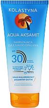 Feuchtigkeitsspendende Sonnenschutzemulsion für den Körper SPF 30 - Kolastyna Aqua Aksamit Suncare Emulsion SPF 30 — Bild N1