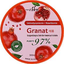 Düfte, Parfümerie und Kosmetik Feuchtigkeitsspendendes Gesichts- und Körpergel mit Granatapfel - The Ebbn Soothing Face And Body Gel Pomegranate 97%