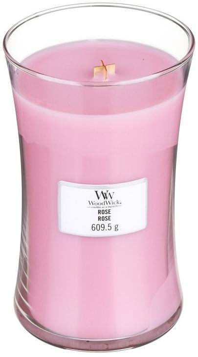 Duftkerze im Glas Rose - WoodWick Hourglass Candle Rose — Bild N1