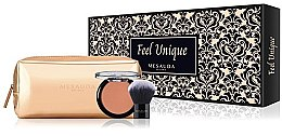 Düfte, Parfümerie und Kosmetik Makeup Set - Mesauda Milano Feel Unique Kit -(Rouge 50ml + Rougepinsel)
