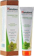 Düfte, Parfümerie und Kosmetik Fluoridfreie Zahnpasta mit Minzgeschmack Complete Care - Himalaya Botanique Complete Care Toothpaste Simply Mint