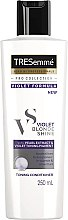 Düfte, Parfümerie und Kosmetik Pflegendes Tönungspülung für blondes und graues Haar - Tresemme Violet Formula Blonde Shine Toning Conditioner