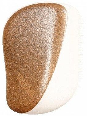 Kompakte Haarbürste - Tangle Teezer Compact Styler Glitter Gold — Bild N3