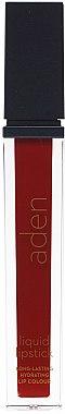 Flüssiger Lippenstift - Aden Cosmetics Liquid Lipstick — Bild N1