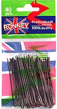 Düfte, Parfümerie und Kosmetik Haarnadeln braun 65 mm 40 St. - Ronney Brown Hair Pins