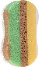 Düfte, Parfümerie und Kosmetik Badeschwamm 6047 gelb-braun - Donegal