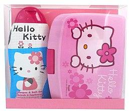 Düfte, Parfümerie und Kosmetik Pflegeset für Kinder - Disney Hello Kitty (Shampoo und Duschgel 300ml + Mittagsbox)