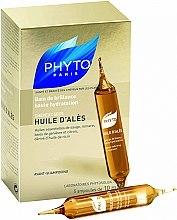 Düfte, Parfümerie und Kosmetik Intensiv feuchtigkeitsspendende Öl-Kur für das Haar - Phyto Huile D'Ales
